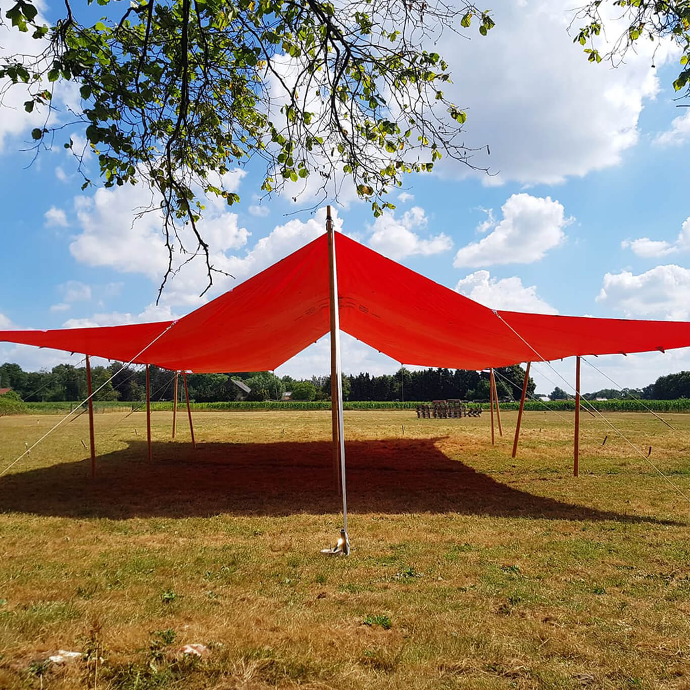 house party Materiaal huren strakke tent