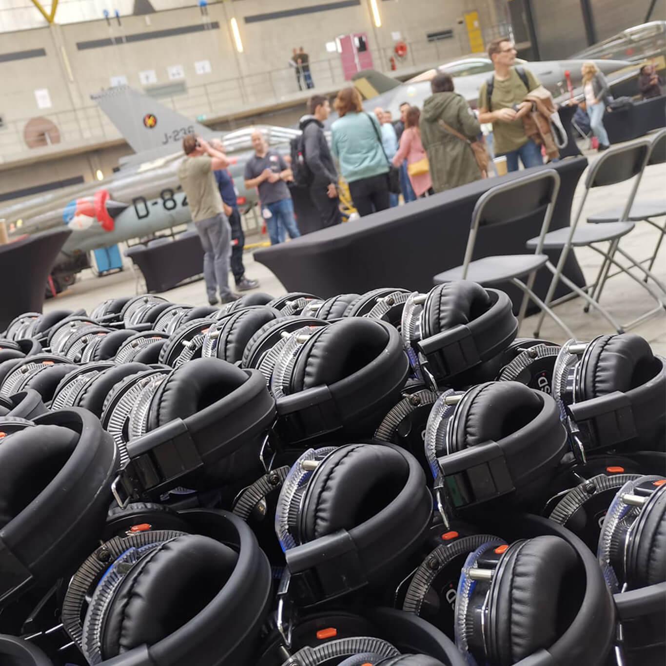Hoofdtelefoons voor je evenementen