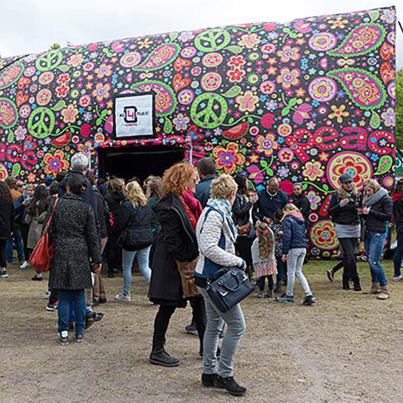 hippie / flower power themafeest