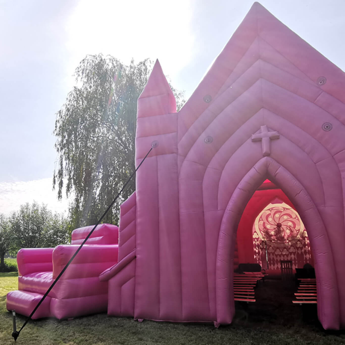 Trouwen festival thema