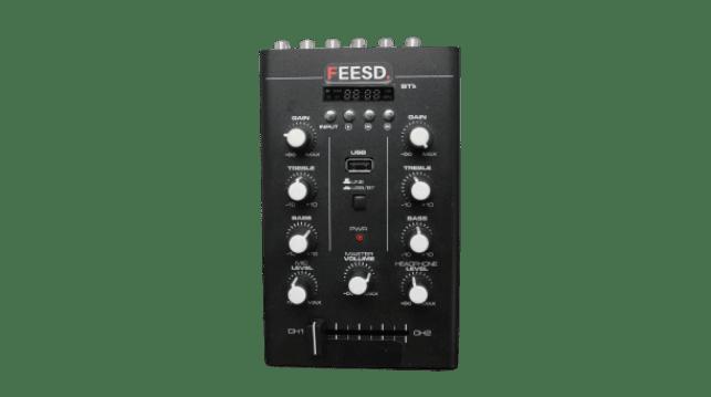 Compacte mixer zodat de geluidskwaliteit nog beter is