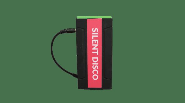 Accu voor mobiele Silent-disco versie